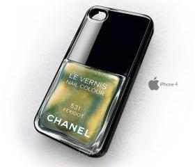 Chanel 531 nail polish le vernis peridot iphone 4 4s 4g case